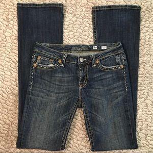 Miss Me Jeans   JP4896K-2 Modelo Boot   30x35